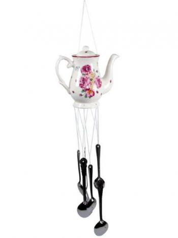 Victorian Rose Design wind chime