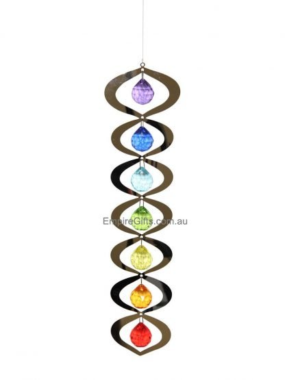 Chakra Suncatcher Spinning Hanging Mobile Crystal