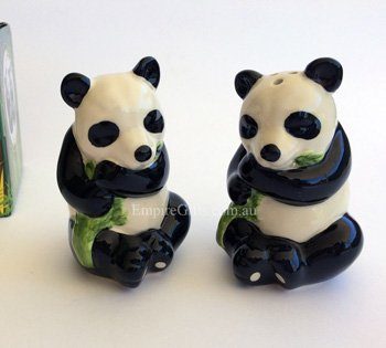 Salt & Pepper Set Collectable PANDA BEARS