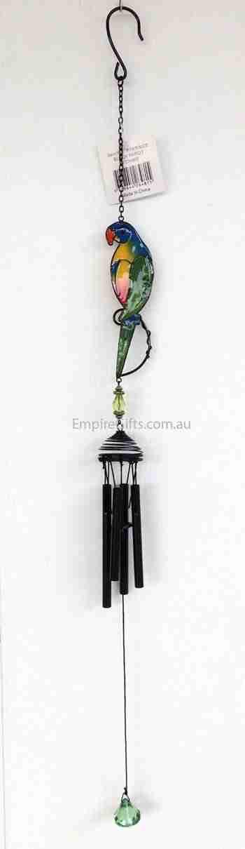 Bird Parrot Wind Chime Garden Hanging Mobile