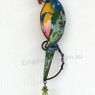 Bird Parrot Wind Chime Garden Hanging Mobile