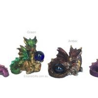 Baby Dragon with Gem Various Colours Gothic