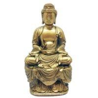 1pc Gold Meditating Buddha - Zen Buddha Feng Shui Enhancer