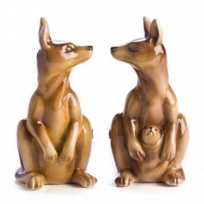 Salt and Pepper Shaker Kangaroos Collectable