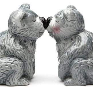 Salt and Pepper Shaker Kissing Koala Bears Collectable