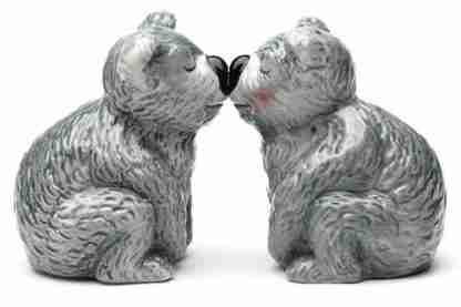 Salt and Pepper Shaker Kissing Koala Bears Collectable