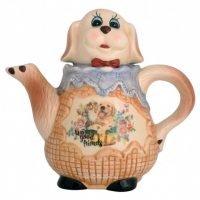 Teapot Dog Collectable teapot ceramic