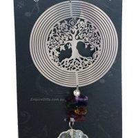 Tree Of Life Cosmo Crystal Chakra Spinner Sun catcher