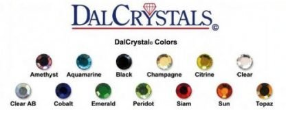 DalCrystals hotfix crystals colour chart
