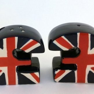 Salt and Pepper Shaker Set English Pound ENGLAND