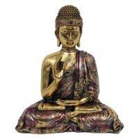 Antique Gold Buddha Meditating Buddha Statue