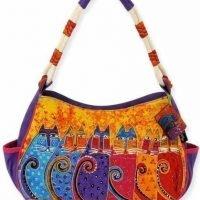 Designer Handbag Feline Tribe Cat Lovers Gift-1