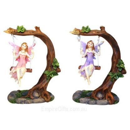 matching pair Fairy on a swing