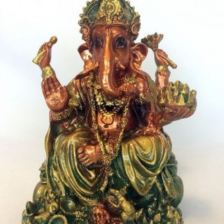 Ganesha Statue Elephant God Antique Style