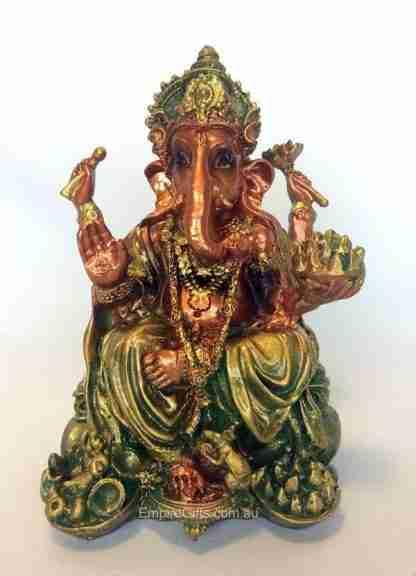 Ganesha Statue Elephant God Antique Style