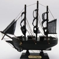 Ship the Black Pearl Wooden Ship Collectable