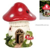 19cm Mushroom Fairy House Garden Landscape Fairy Garden Empire-Gifts