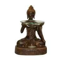 Buddha Oil Burner Fragrant Melts Aromatherapy Statue