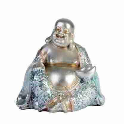 Buddha Statue Feng Shui Wealth Enhancer Mirror Art