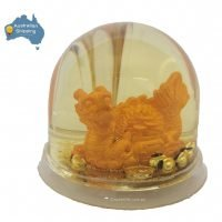 Dragon Gold Waterball Pen Holder Feng Shui