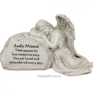 Memorial angel statue sadly missed