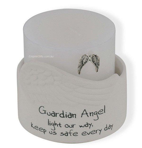 Guardian Angel Candle Holder-light our way
