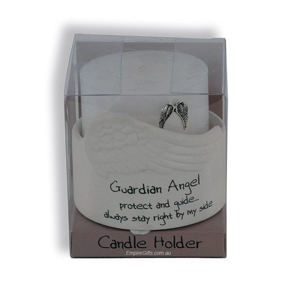 Guardian Angel Candle Holder - protect and guide
