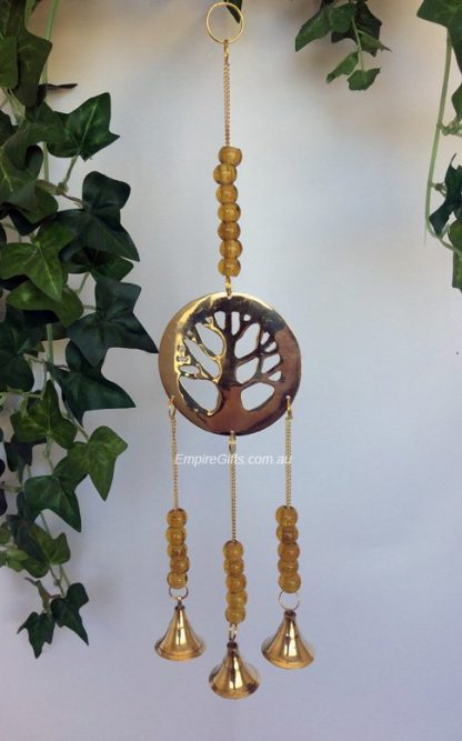 Tree Of Life - Bell Chimes Gold Beads