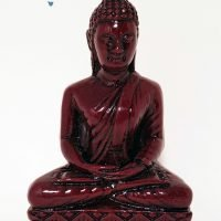 1pc Buddha Meditating Statue Altar Figurine 120mm