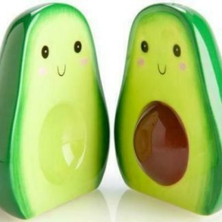 2pc AVOCADO Salt & Pepper Shaker Set Collectable