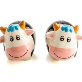 cute cow salt and pepper set