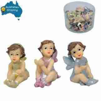 24pc Miniature Fairy Garden Figurine BULK Set 24