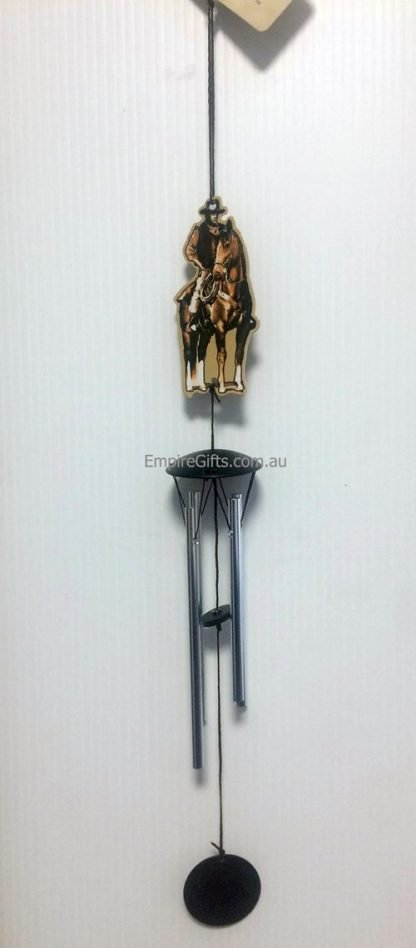 1pc Cowboy Horse Rodeo Wind Chime Hanging Mobile