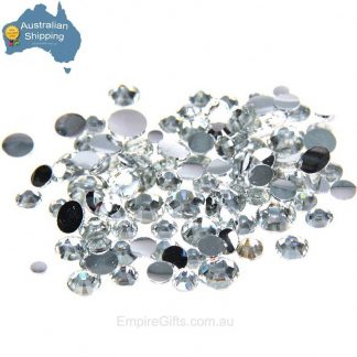 Iron On Rhinestone Hot Fix Crystal USA DalCrystals 5mm