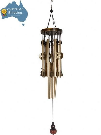 Feng Shui Enhancer Money Coin Wealth Chinese Bells Wind Chime