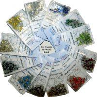 12 x DalCrystals Hotfix Rhinestone Crystal 4mm 60% OFF