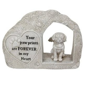 1pc Dog Memorial Angel Statue doghmemr