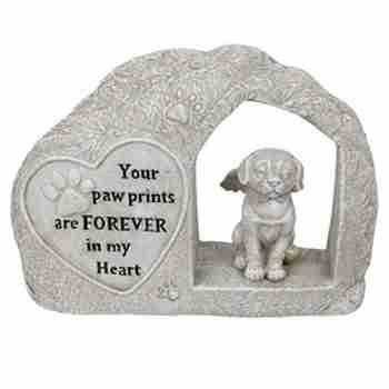 1pc Dog Memorial Angel Statue doghmemr