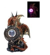 Dragon Statue with Light Up Shield (A) GOT 1eg