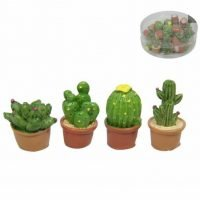 24pc Mini Cactus Figurine Ornament Fairy Garden BULK Set 24