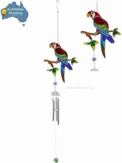 Bird Parrot Wind Chime Australian Bird Hanging Mobile
