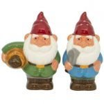 2pc Gnome Salt & Pepper Shaker Set