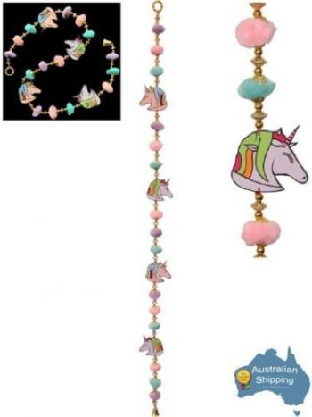 1m Baby Room Unicorn PomPom Hanging Mobile