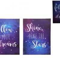 Follow Your Dreams Canvas Wall Art Picture Wall Hanging