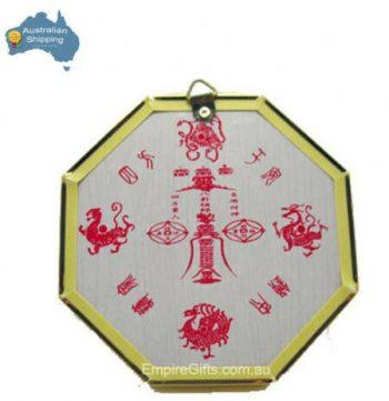 1pc Bagua Mirror House Protection Feng Shui Enhancer