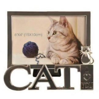 "1pc CAT Kitten Photo Frame Pet Frame ""I Love You"""