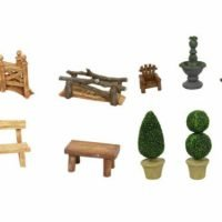 10pc Fairy Garden Display Novelty Furniture Collectables BULK