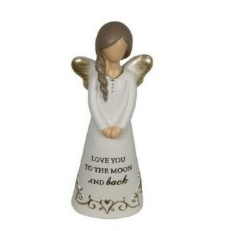 1pc Angel Figurine Inspirational Love you to the moon and back