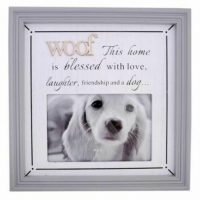 1pc Dog Photo Frame Pet Frame - WOOF