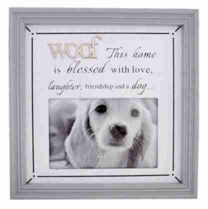 1pc Dog Photo Frame Pet Frame - WOOF